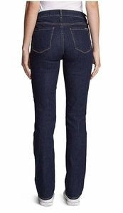 EDDIE BAUER Slightly Curvey, Bootcut Jeans, 8 TALL